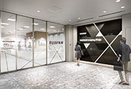 富士フイルム製品の魅力を体験できるスペースがオープン