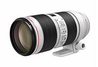 ズーム全域で開放F値が一定のプロ向けL(Luxury)レンズ