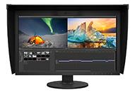映像制作用HDR表示に対応、軽量スリム化した27型ColorEdge