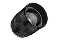 携帯性に優れたミラーレス用中望遠レンズ