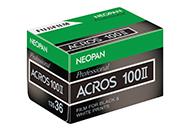 黒白フィルム「ネオパン100 ACROSII」の販売を今秋より再開