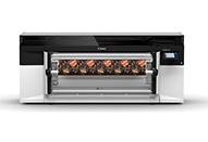 インクを交換せずグロス調マット調の画像をプリントするFLXfinishテクノロジー
