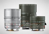ライカMレンズ、新カラー1本と特別限定レンズ2本の新レンズ3種類を発売