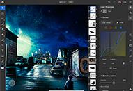 Photoshop iPad版にトーンカーブとブラシの筆圧感度調整が追加