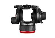 様々な重量のビデオカメラ、一眼レフカメラに対応するフルードビデオ雲台
