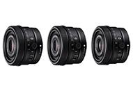 標準から広角まで3機種 フルサイズ対応高性能Gレンズ