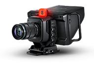 可搬性に優れたプロ仕様のオールインワン Blackmagic Studio Camera新シリーズ