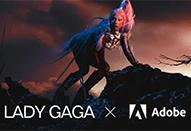 アドビとレディー・ガガによるコンテスト「Lady Gaga x Adobe: Create Your Chromatica」作品募集