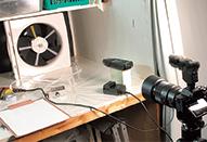 ローリングシャッター歪みを計測する
