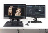 HP Z1は液晶モニターとの一体型なので撮影の立ち会いに最適