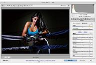 解像度、画像サイズ、カラースペース、ビット深度を設定する