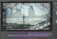 静止画の感覚でビデオ編集ができる「タイムライン」パネル