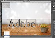 ロゴ作成など便利に使える「3D」機能