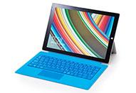 Windows 8 タブレット Surface Pro 3をテストする